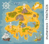 Pirate Fantasy Island Map...