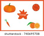 learn the colors  kids are...   Shutterstock .eps vector #740695708