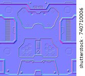 2d Tile Panel Normal Map For...