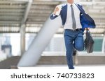 confident and active... | Shutterstock . vector #740733823