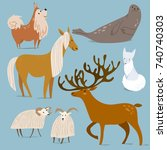 vector illustration of... | Shutterstock .eps vector #740740303