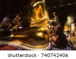 phetchaburi  thailand   october ... | Shutterstock . vector #740742406