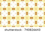 colorful seamless pattern for... | Shutterstock . vector #740826643