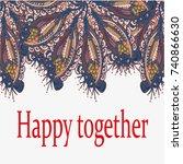 abstract zentangle inspired art ...