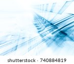abstract blue background... | Shutterstock . vector #740884819