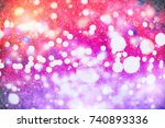 christmas background.holiday... | Shutterstock . vector #740893336