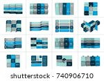 big set of tables  schedules ...   Shutterstock .eps vector #740906710