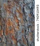 old rough tree bark texture  ...   Shutterstock . vector #740910493