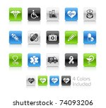 medical   heath care    clean... | Shutterstock .eps vector #74093206