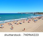 l'escala  spain   august 21 ... | Shutterstock . vector #740964223