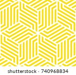 abstract geometric pattern with ... | Shutterstock .eps vector #740968834