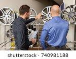 business  maintenance and... | Shutterstock . vector #740981188