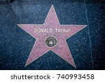 los angeles  ca oct 17 2017 ... | Shutterstock . vector #740993458