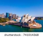 beautiful panorama of the...   Shutterstock . vector #741014368