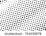 halftone background. comic... | Shutterstock .eps vector #741035878