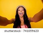 relax  dream  chill mode ... | Shutterstock . vector #741059623