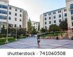 los angeles  ca  october 20 ... | Shutterstock . vector #741060508