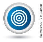 target icon isolated on prime... | Shutterstock . vector #741060580