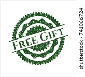 green free gift distressed...