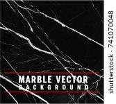 black vector marble background  ... | Shutterstock .eps vector #741070048