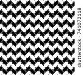 abstract. zigzag lines... | Shutterstock .eps vector #741072118