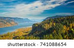 view of crown point and the... | Shutterstock . vector #741088654