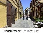 thessaloniki architecture ... | Shutterstock . vector #741094849