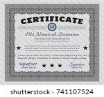 grey classic certificate