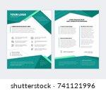 business banner design template ... | Shutterstock .eps vector #741121996