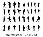 white collar | Shutterstock .eps vector #7411243