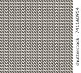 tweed fabric pattern. white and ... | Shutterstock .eps vector #741160954