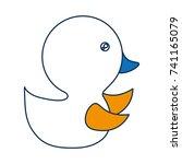 cute animals design | Shutterstock .eps vector #741165079