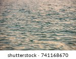 a small light ripples in the... | Shutterstock . vector #741168670
