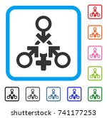 triple penetration sex icon.... | Shutterstock .eps vector #741177253
