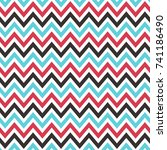 chevrons pattern texture or... | Shutterstock .eps vector #741186490