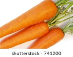 fresh carrots | Shutterstock . vector #741200