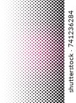 dark pink abstract pattern with ... | Shutterstock . vector #741236284