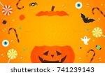 Happy Halloween Background...