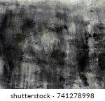 abstract dark background for... | Shutterstock . vector #741278998