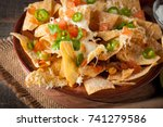 Corn Mexican Nachos With Beef ...