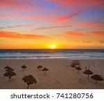 Cancun Sunrise At Delfines...