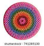 pyssla box | Shutterstock . vector #741285130