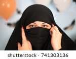 example picture islam. muslim...   Shutterstock . vector #741303136