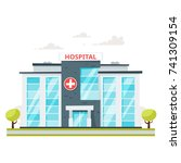 vector cartoon style... | Shutterstock .eps vector #741309154