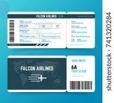 Modern Airline Travel Boarding...