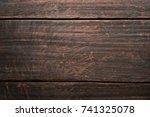 old wooden texture background....   Shutterstock . vector #741325078