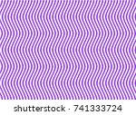 alternate zigzag lines of blue...   Shutterstock .eps vector #741333724