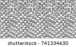 hand drawn doodle graphic... | Shutterstock .eps vector #741334630