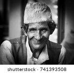 pokhara  nepal   circa... | Shutterstock . vector #741393508