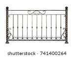Decorative  Forged  Railing ...